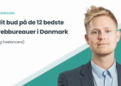 De 12 bedste webbureauer i Danmark